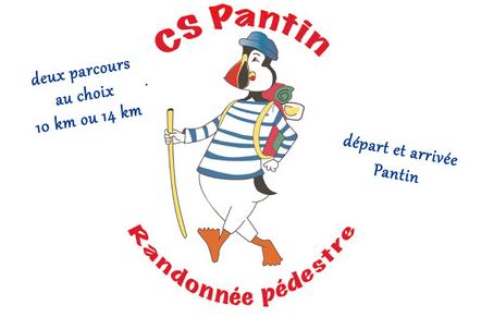 Randonnée pédestre organisée par CS Pantin le dimanche 27 janvier