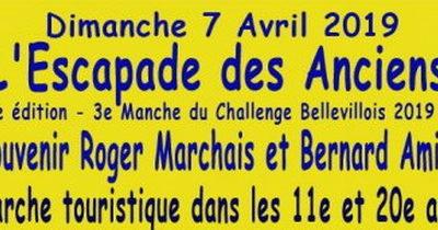 Escapade des Anciens souvenir Roger Marchais et Bernard Amiot du dimanche 7 avril