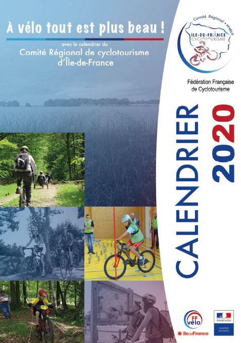 Le Calendrier 2020   COREG FFCT Île de France