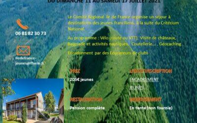 Séjour Jeune à Aubusson d'Auvergne